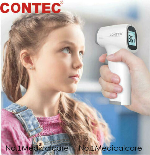 CONTEC TP500 Thermometer Non infrared LCD Display Human Fever Gun Meter
