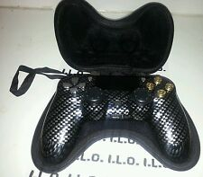 Carbon PS4 RAPID FIRE CUSTOM MODDED CONTROLLER REAL 9MM BULLET buttons