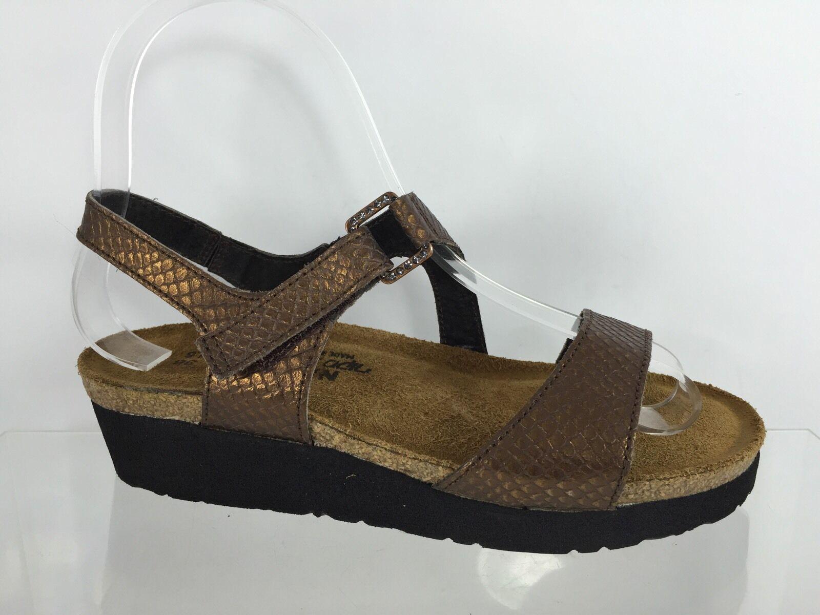 Naot Damenschuhe Bronze Snake Texture  Sandales 5