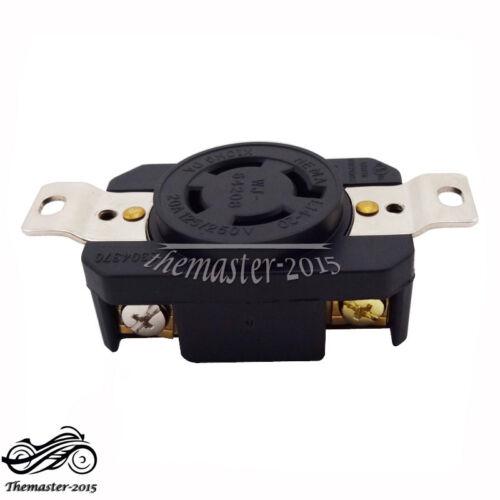 Generator Receptacle Twist Lock Socket 20AMP 125//250V NEMA L14-20R UL Approval