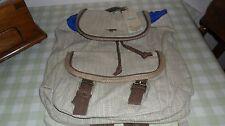 Rocket Dog Bluebell Sandbag Natural Back Pack / Rucksack