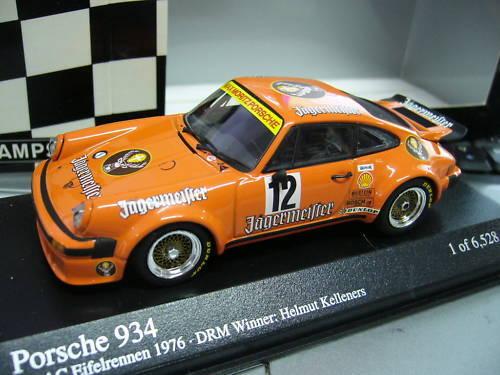 Porsche 911 Carrera RSR JAGERMEISTER 934  12 DRM MINICHAMPS Pma 1 43