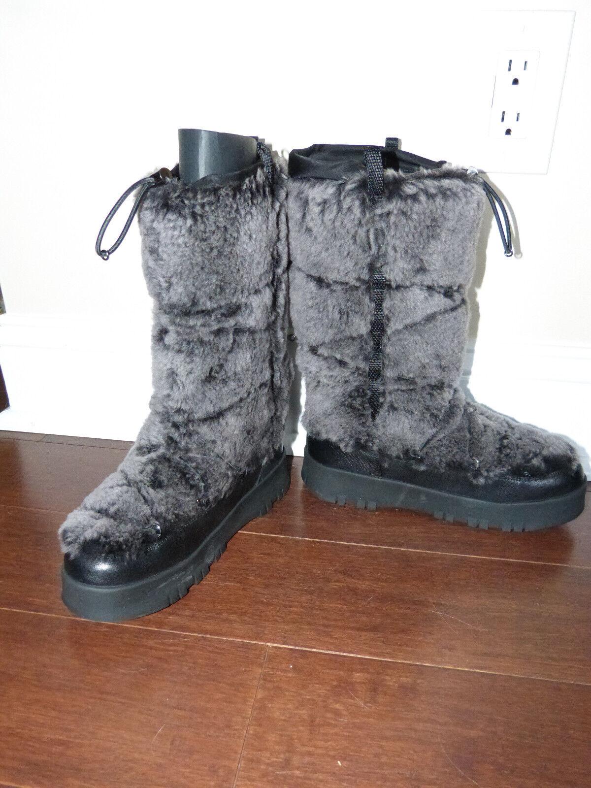 Prada snow Stiefel Stiefel Stiefel NEW 36.5 fur outside, fleece lined, very warm 75f616