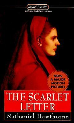 The Scarlet Letter By Nathaniel Hawthorne 1959 Paperback For Sale Online