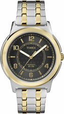 Timex TW2P61900, Men's 2-Tone Expansion Band Watch, Indiglo, 50 Meter WR