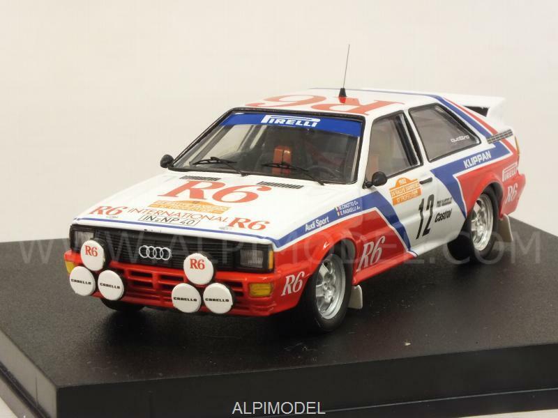 Audi Quattro Rally Sanremo 1982 Cinotto - Radaelli 1 43 TROFEU 1616
