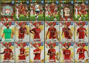 ADRENALYN-XL-FIFA-365-2020-LIVERPOOL-FULL-SET-OF-18-TRADING-CARDS-inc-6-FOIL