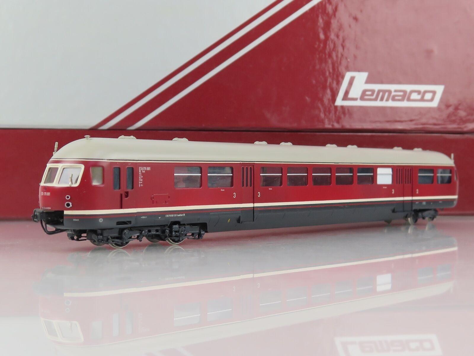 GL17 - BRASS MODEL - LEMACO HO-001 Diesel ETA 176.001 der DB - OVP -