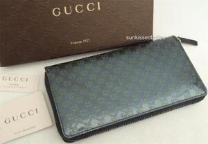 1c1eabb96 GUCCI GG Leather Wallet Bag Purse Boxed Perfect Gift! New AUTH | eBay