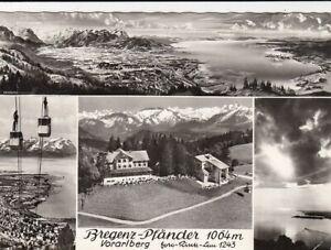 Vorarlberg, Bregenz-Pfänder, Mehrbildkarte gl1968 G4193