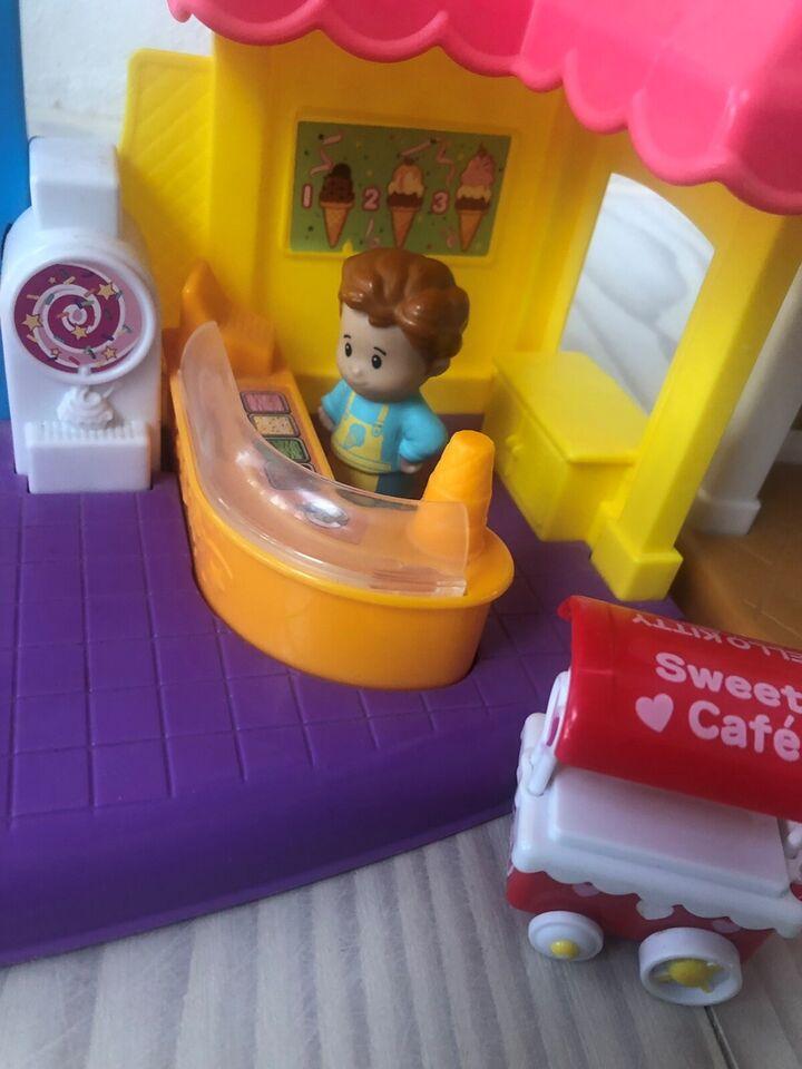 Dukkehus, Isbod og købmandsforretning, Little People