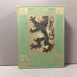 Luxe-Editie-Hendrik-Conscience-De-Leeuw-van-Vlaanderen-1912