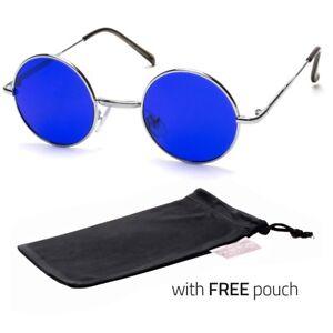 0bbd003d176 Details about John Lennon Vintage Classic Circle Round Sunglasses Men Women  Color BLUE P I