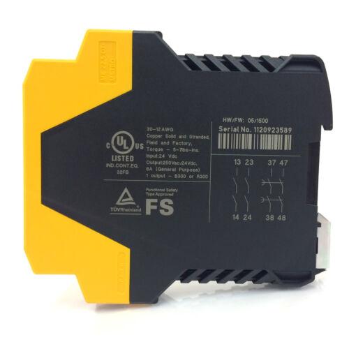 Relé de seguridad retrasado ESR5-NV3-30 Eaton 24VDC 118705 ESR5NV330