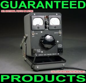 NEW-CUSTOM-MADE-ONE-OF-A-KIND-GENERAL-RADIO-PORTABLE-DUAL-METERED-15-AMP-VARIAC