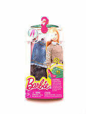BARBIE DENIM/ SHORT LEGGINGS  BARBIE MATTEL. NEW IN PACK. CLOTHES ACCESSORIES