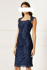 designer kleid größe 48 uk 20 neu | ebay