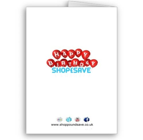 Name /& Age A5 Happy Birthday Card Personalised Any Photo