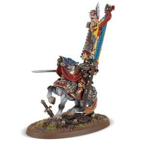 Warhammer Batailles Fantastiques Ludwig Schwarzhelm Résine - L'Empire, l'âge de Sigmar