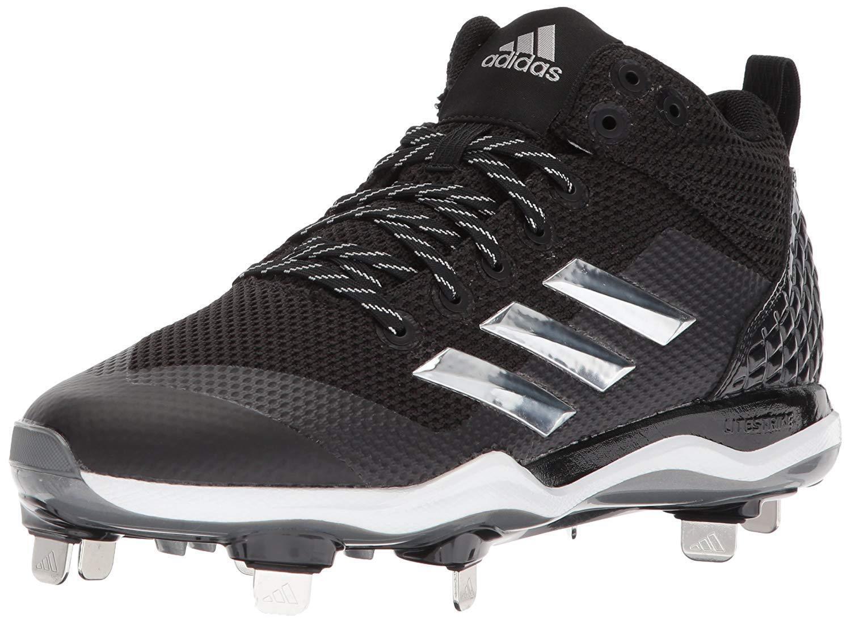 Adidas uomini mostro x carbonio carbonio x metà nero / bianco / baseball scarpa d'argento 8,5 m 547e38