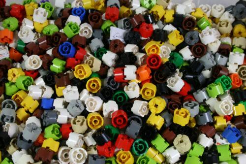 Lego 20 Steine 2 x 2 rund bunte Mischung 9 Farbtöne 3941