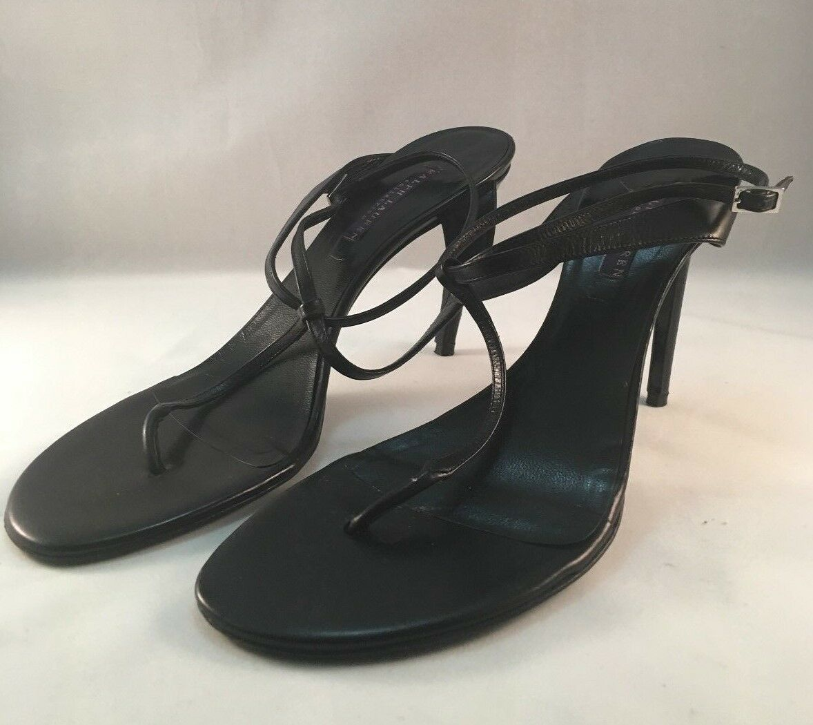 Ralph Ralph Ralph Lauren collection Size 9.5 strappy sandlel antique 2001 b33189