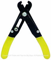Wire Stripper 5 Electrical Tool Cuts 24-10 Gauge Screw Adjustment Hobby I