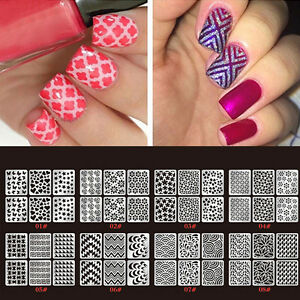 24-Sheets-Nail-Art-Transfer-Stickers-3D-Manicure-Tips-Tool-Decal-Decorations-DIY