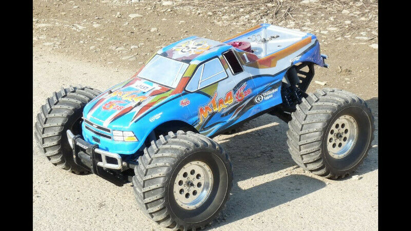 Thunder Tiger MTA4 Nitro RC large lot of new and used parts available
