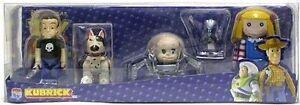 Set 4 Figurines Sid, Scud, Bébé Visage Et Poupée Kubrick Toy Story