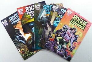 IDW-ROGUE-TROOPER-2014-1-3-4-SUBSCRIPTION-VARIANTS-VF-NM-LOT-Ships-FREE