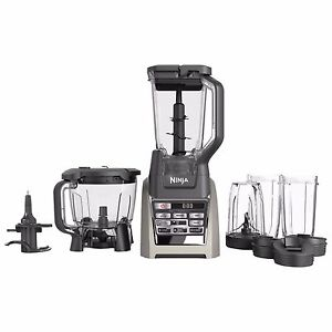 ninja total boost bl687 auto-iq 1500 watt blender juicer food