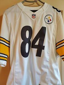 SEWN 84 Antonio Brown Nike Limited Speed Machine Away Pittsburgh Steelers Jersey