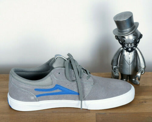 Lakai Skateboard Footwear SKATE CHAUSSURES SHOES Griffin Vlk Grey Suede 8//41