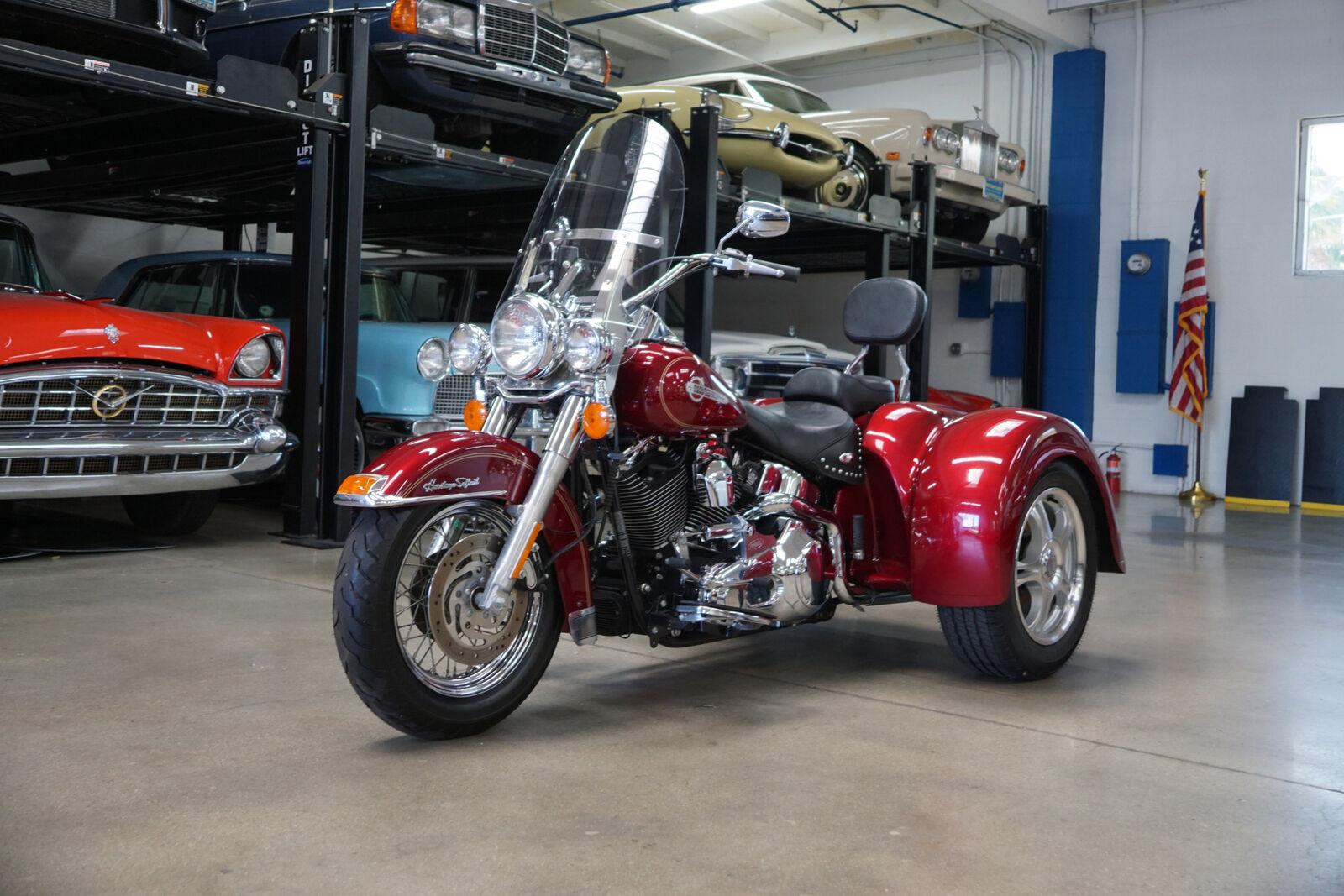 2004 Harley Davidson FLSTCI Heritage Classic Trike with 827 original mi