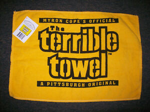 Pittsburgh-Steelers-034-Myron-Cope-039-s-Official-Terrible-Towel-034-Rally-Towel