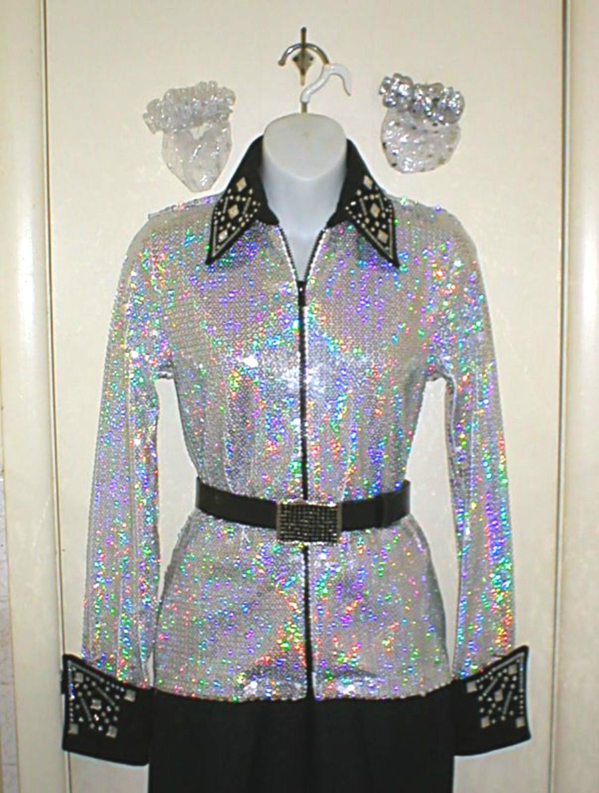 Plus Size All Over Sequined  Western Rail or Glamor Shirt in 3 color Choices  cheapest
