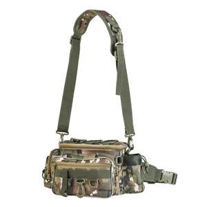 Fishing-Bag-Tackle-Moulinet-leurres-Boite-de-rangement-taille-epaule-Camera-Sac-a-Main-Pochette
