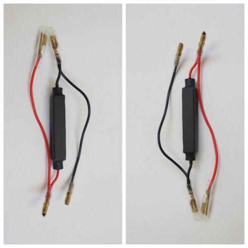 RC10 2 RESISTENZE per FRECCE a LED da 10 WATT 10 Ω per DUCATI Hypermotard 939