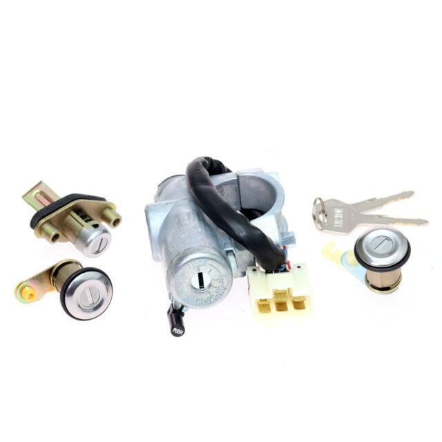 Ignition Door Trunk Locks Set Fits Nissan Sentra B13 Sunny Super Saloon 1 6l For Sale Online Ebay