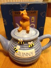 Disney Winnie the Pooh Hunny Teapot Treasure Craft - NIB Sweet😊