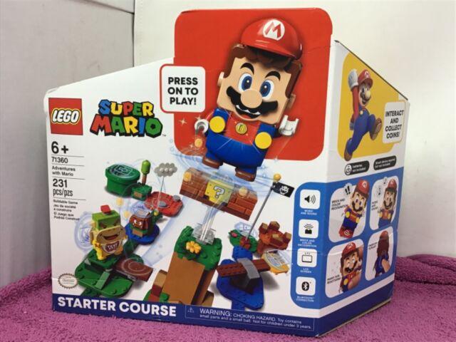 LEGO Super Mario: Adventures With Mario Starter Course (71360)  —  NEW