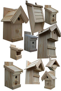 nistk sten boxen f r v gel gro e auswahl vogelhaus aus holz n nicht gemalt ebay. Black Bedroom Furniture Sets. Home Design Ideas