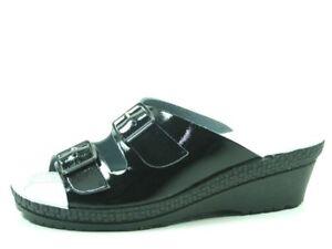 superior quality 5a94d 03775 Details zu Rohde 1463-91 Neustadt-50 Schuhe Damen Pantoletten Clogs Weite G