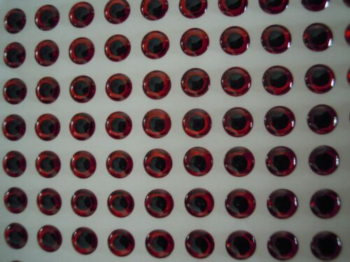 60pcs 18mm Silver//Gold//Red Eyes 3D Holographic Fishing Lure Eyes Flytying Jigs