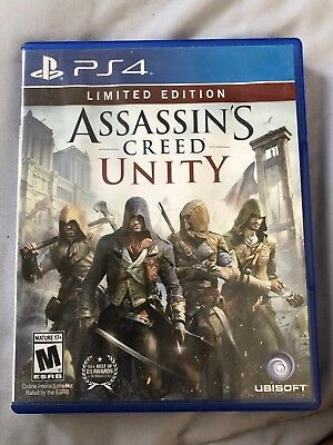 Assassin S Creed Unity Limited Edition Ps4 Used Playstation