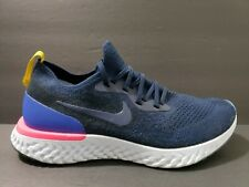 4cd596c06428 item 4 Nike Air Epic React Flyknit Mens Size 9 Running Shoes Blue Navy  AQ0067 400 -Nike Air Epic React Flyknit Mens Size 9 Running Shoes Blue Navy  AQ0067 ...