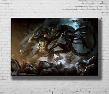 24x36 14x21 40 Poster Alien vs Predator Movie Trippy Art Hot P-3890