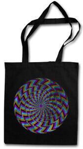 HYPNO SPIRAL II STOFFTASCHE Labyrinth Mystic Hypnose Esoterik Hypno Spirale