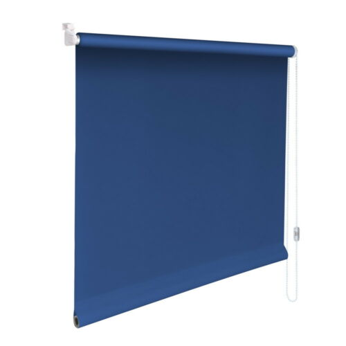 Mini-Blind Klemmfix Clamp Roller Blind Easyfix Privacy-Height 110 cm Mid Blue